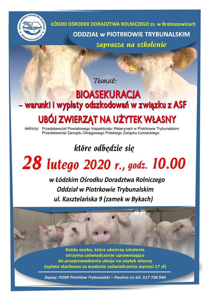 ASF, bioasekuracja - Plakat szkolenie 28.02.2020.jpeg