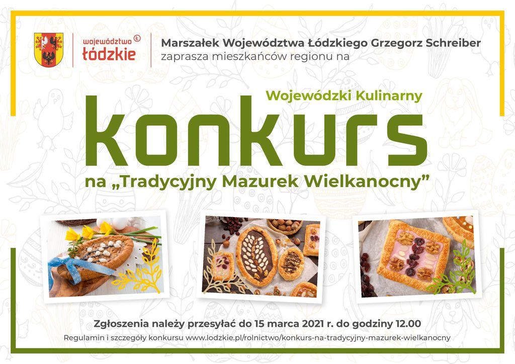 Plakat Wojewódzki Kulinarny Konkurs na Tradycyjny Mazurek Wielkanocny_zaakceptowany.jpeg
