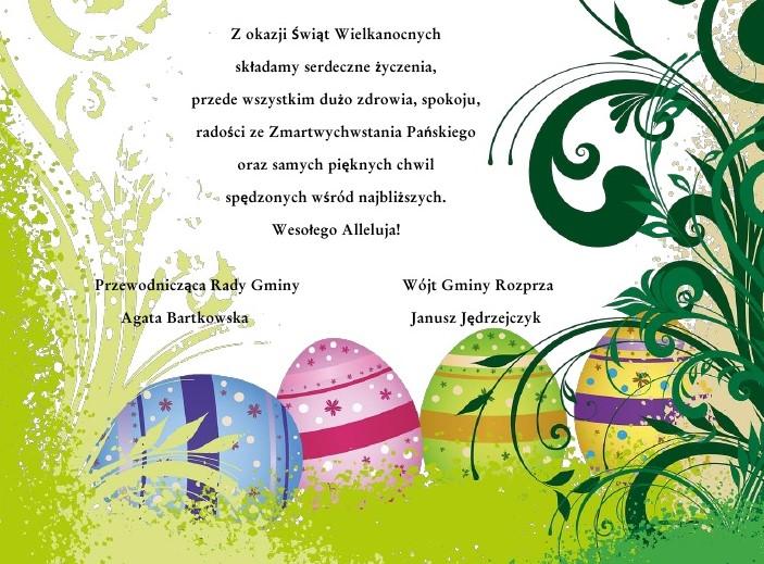 Z okazji Świąt Wielkanocnych gmina Rozprza.jpeg