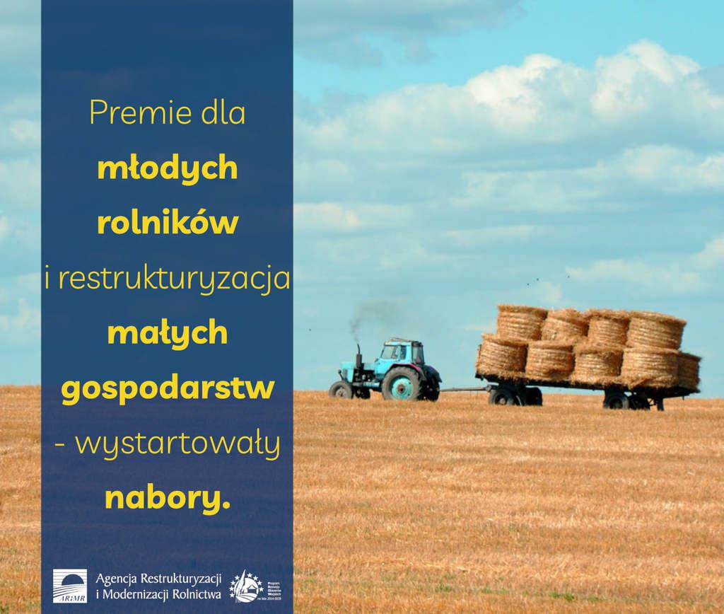 Premie dla młodych rolników i restrukturyzacja małych gospodarstw – wystartowały nabory - informacja prasowa.jpeg
