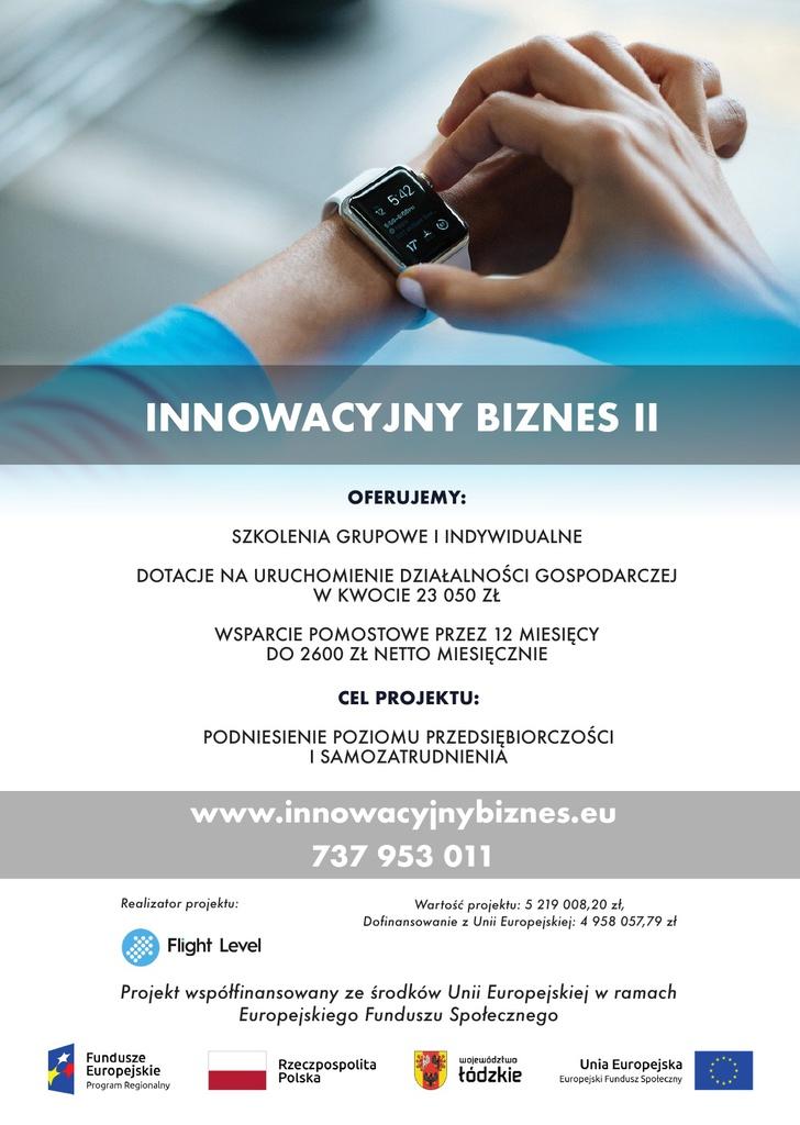 Plakat innowacyjny biznes II