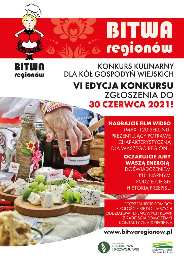 """Konkurs kulinarny dla Kół Gospodyń Wiejskich """"Bitwa Regionów"""""""