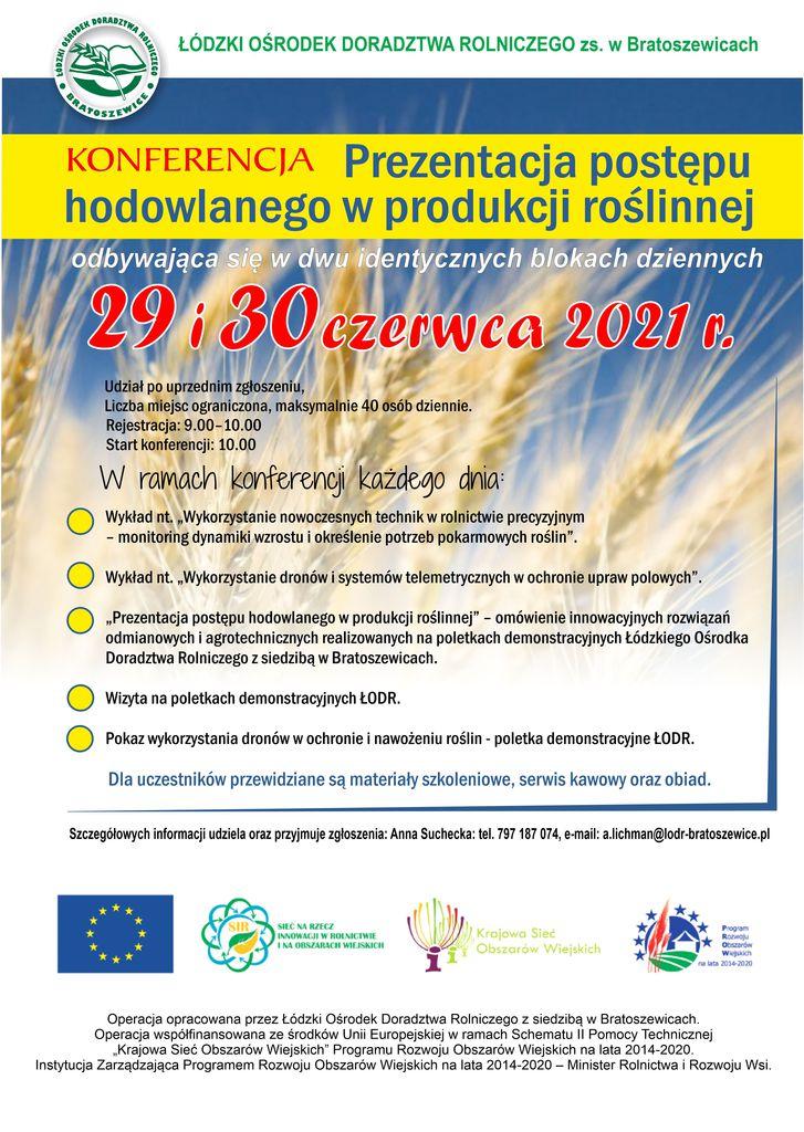 Plakat A3 Prezentacja postępu hodowlanego.jpeg