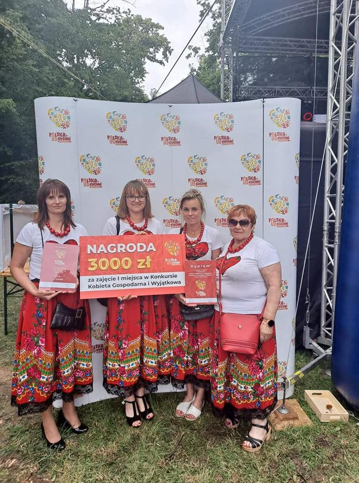 KGW Romanówka/Stefanówka na festiwalu Polska od Kuchni
