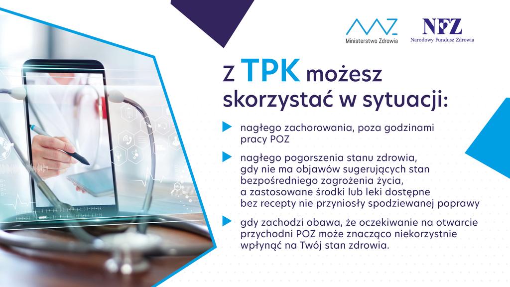 Narodowy Funduszu Zdrowia uruchomił Teleplatformę Pierwszego Kontaktu (TPK)
