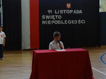 Galeria SP MNilejów Dzien Niepodległości
