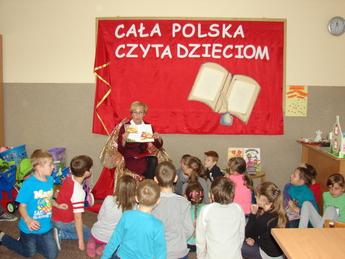 Galeria Cała Polska czyta dzieciom- SP Rozprza