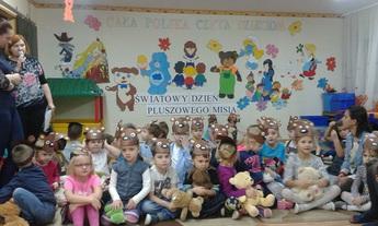 Galeria pluszowy miś- przedszkole w Niechcicach