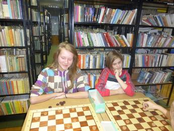 Galeria turniej szachowy w bibliotece w rozprzy