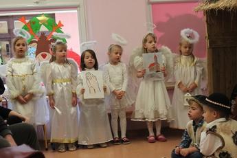 Galeria Jasełka w przedszkolu w Rozprzy