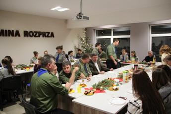 Galeria Spotkanie opłatkowe harcerzy w GCK