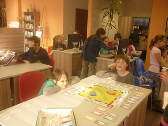 Galeria Ferie w Bibliotece w Rozprzy