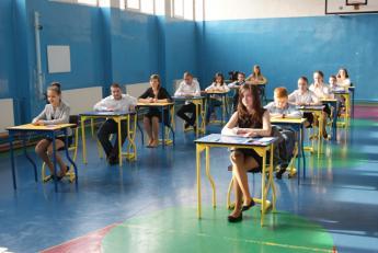 Galeria Sprawdzian uczniów 6 klasy Zespołu Szkolno-Gimnazjalnego w Niechciach