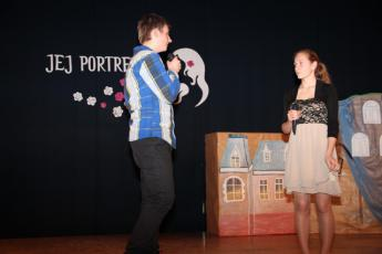 Galeria XIII spotkanie z poezją w Gimnazjum w Rozprzy