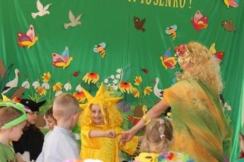 Galeria przywitanie wiosny - przedszkole w Rozprzy