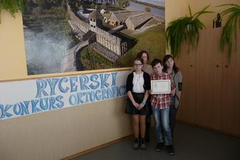 Galeria Rycerski konkurs ortograficzny
