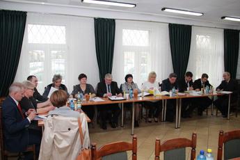 Galeria VI sesja Rady Gminy