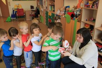 Galeria Dzieciństwo bez próchnicy - Przedszkole w Rozprzy
