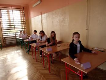 Galeria Uczniowie Szkoły Podstawowej w Nowej Wsi już po egzaminie szóstoklasisty