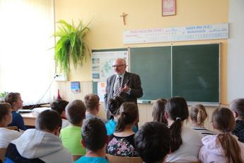 Galeria spotkanie z profesorem SP Rozprza