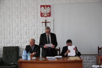 Galeria XXX Sesja Rady Gminy Rozprza