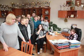 Galeria SP Straszów w urzędzie gminy
