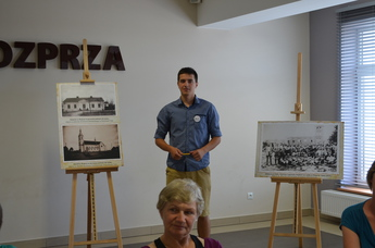 Galeria Wolborskie Towarzystwo Kultury i Turystyki z wizytą w Rozprzy
