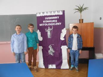 Galeria IV Gminny Konkurs Mitologiczny