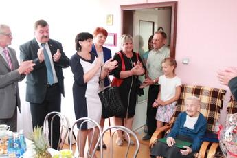 Galeria 100 urodziny pani Reginy