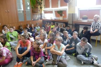 Galeria Narodowe czytanie Lalki SP Rozprza