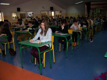 Galeria VI Powiatowy Konkurs z Języka Angielskiego i Niemieckiego w Gimnazjum w Rozprzy