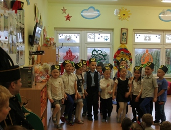 Galeria Spotkanie z górnikiem przedszkole w Rozprzy