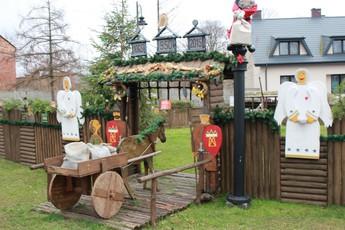 Galeria Rozprzę rozświetliły świąteczne iluminacje