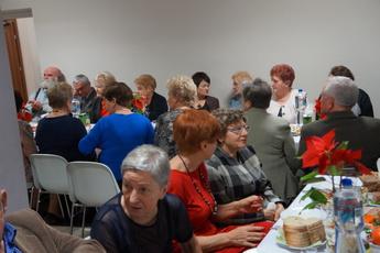 Galeria Spotkanie opłatkowe emerytów w Rozprzy
