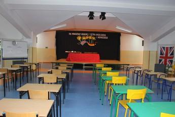 Galeria Konkurs językowy w Gimnazjum w Rozprzy