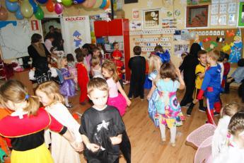 Galeria Karnawał w przedszkolu w Niechcicach