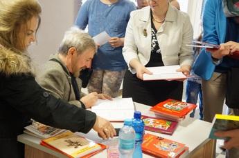 Galeria Spotkanie autorskie z Andrzejem Grabowskim
