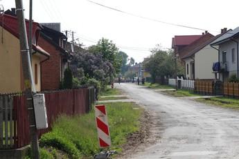 Galeria przebudowa drogi Rajsko