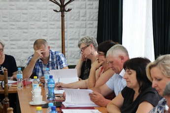 Galeria XVI sesja Rady Gminy