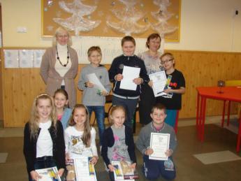 Galeria konkurs pieknego czytania w szkole podstawowej w rozprzy