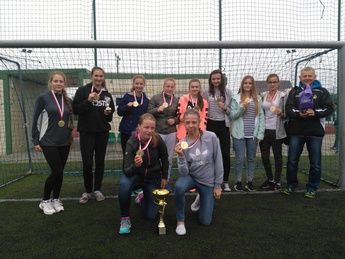 Galeria Finał Wojewódzki Mistrzostw Zrzeszenia LZS Woj. Łódzkiego w Piłce Nożnej Kobiet powyżej 16 lat