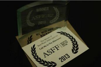 Galeria Człowiek Kamera zwycięzcą na Aesthetica Short Film Festival 2013