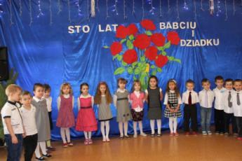 Galeria Dzień Babci i Dziadka w przedszkolu w Rozprzy w grupie Słoneczka