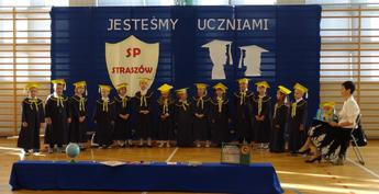 Galeria pasowanie pierwszoklasistów Straszów 2016