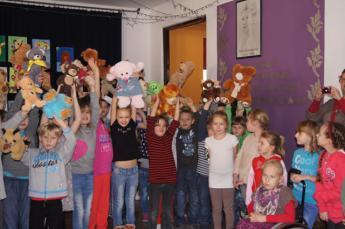Galeria Poczęstunek u Misia w ZSG w Niechcicach