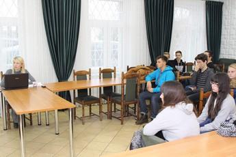 Galeria uczniowie w urzędzie