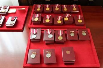 Galeria medal dla wójta