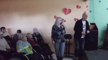 Galeria Wizyta W Domu Pomocy Społecznej W Łochyńsku