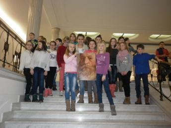 Galeria Uczniowie Szkoły Podstawowej w Nowej Wsi odwiedzili Sejm RP w Warszawie