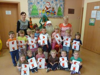 Galeria Mikołaj w przedszkolu w Rozprzy